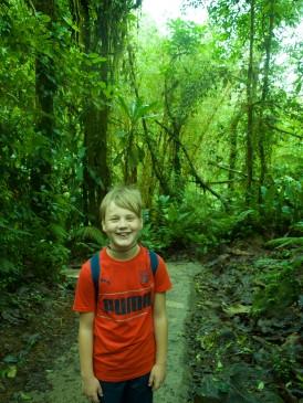 Caleb at Parque Nacional Tenorio