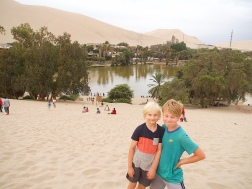 The Huacachina Oasis