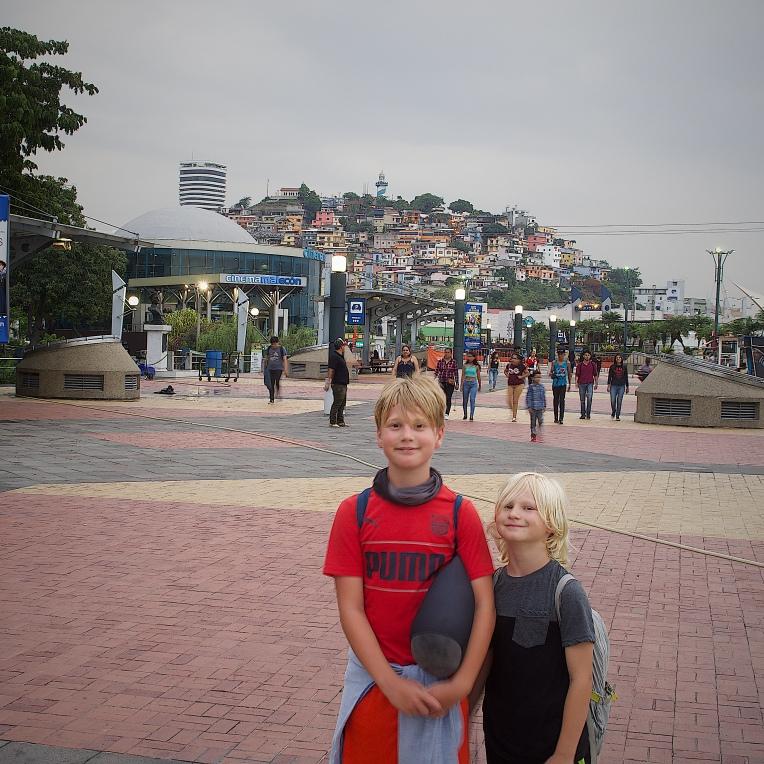 Bohemian Las Penas at Guayaquil