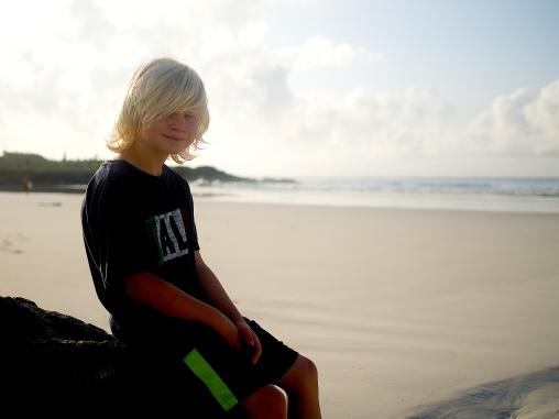 Kieran at Tortuga Bay
