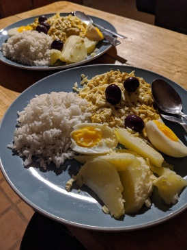 Wendy's (amazingly delicious) rendition of Aji de Galina