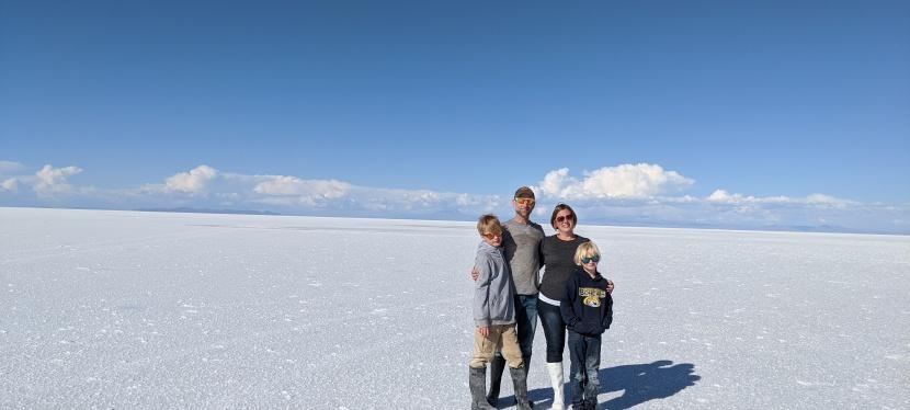 Salt Flats, Desert, Volcanoes,Lagoons…